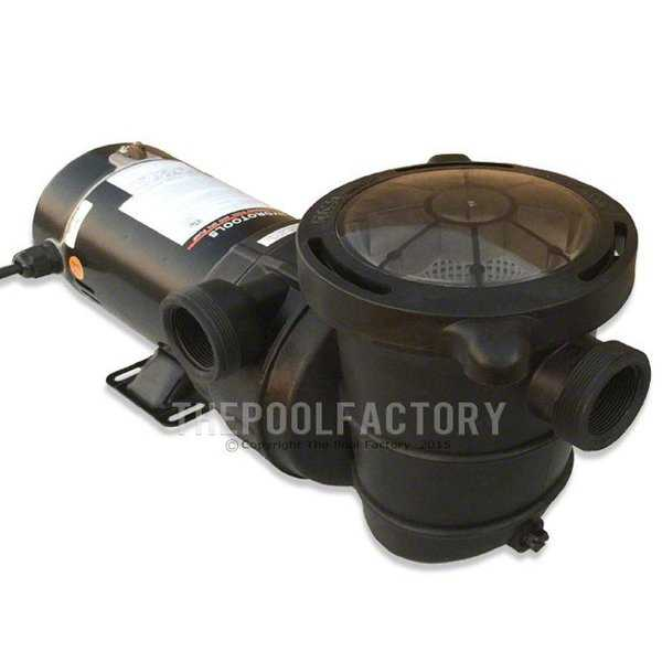 1.5 Hp Pump - Side Discharge (Replacement For 70151 Filter Combo) - Black