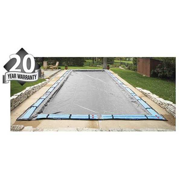 20 Year 16'x36' Rectangle In Ground Swimming Pool Winter