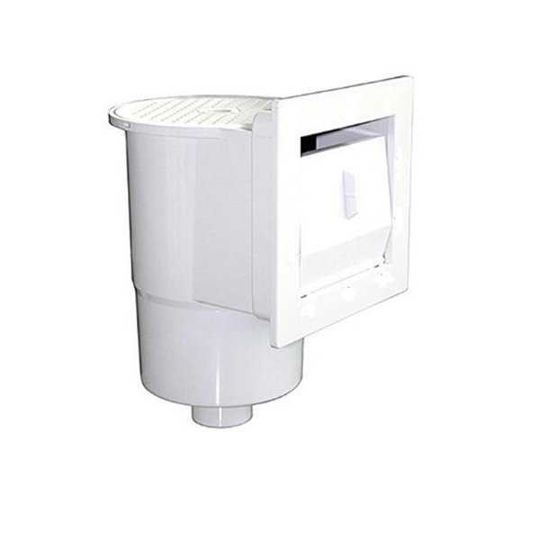 12.5 in. White Thru Wall Skimmer for Above Ground Swimming Pool